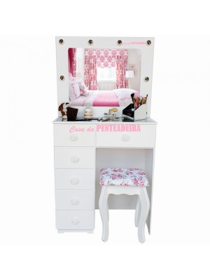 Penteadeira Camarim Make Up Flavia 72 cm